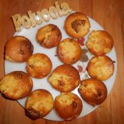 Muffins Poires Pralinoise