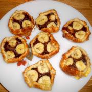 Feuilletés Nutella® - Bananes