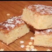 Brownies chocolat blanc & citron