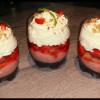 Duo de fraises en verrine - Recette Émission Manghjà Inseme