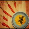 Purée de carottes au curcuma