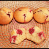 Muffins Noix de coco & Framboises