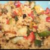 Wok de Céréales du Soleil & légumes d'été grillés