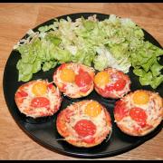 Rondelles d'aubergine façon Pizza