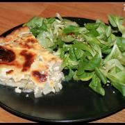 Tarte aux Endives & Mozzarella