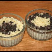 Mousse au chocolat blanc & Oréos