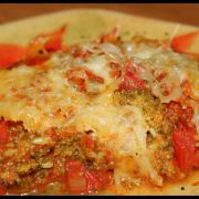 Gratin de brocoli à la tomate