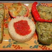 Légumes farcis au brocciu façon Poluccia
