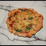 Tartelette brocoli & jambon