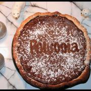 Tarte ricotta, crème de marrons & chocolat