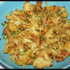 Poêlée de champignons & chou-fleur