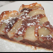 Tarte aux Poires & Frangipane Chocolat