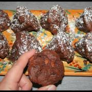 Petits gâteaux chocolat - caramel