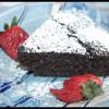 Fondant chocolat, pépites de chocolat & betteraves