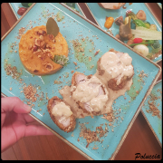 Filet Mignon aux noisettes, sauce miel châtaigne (Recette émission