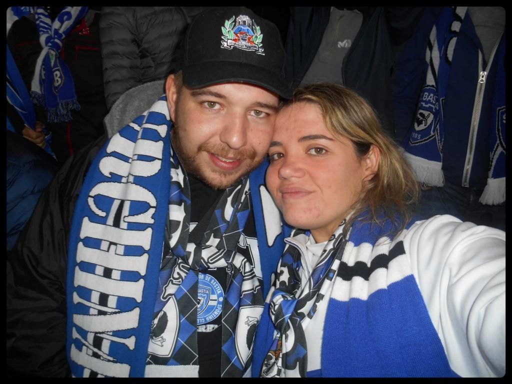 Anto & Poluccia Photo souvenir au Stade
