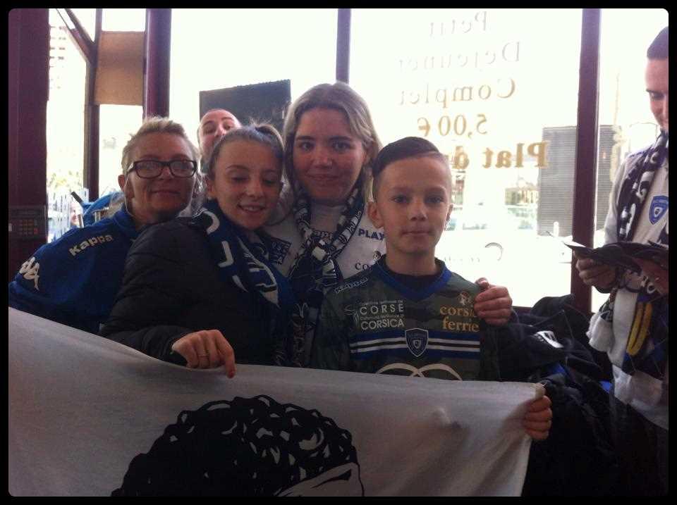 Forza Bastia !!!!!! Aline & Lisandra & Kenzo & Poluccia