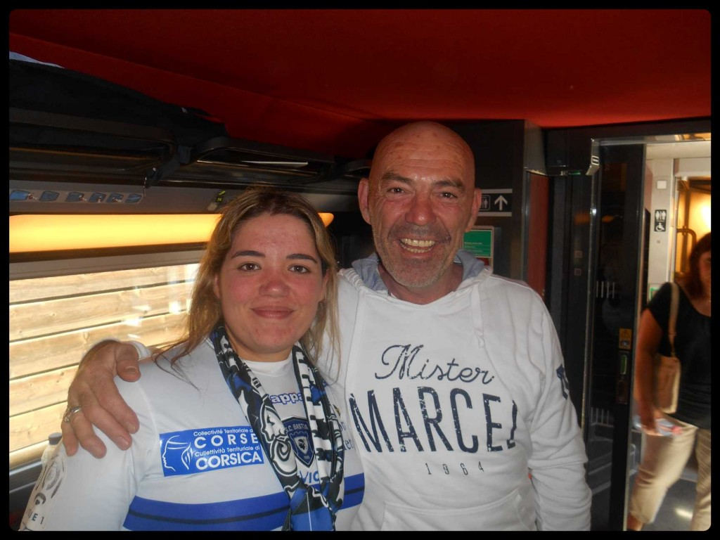 Mr Philippe Corti rencontré dans le train